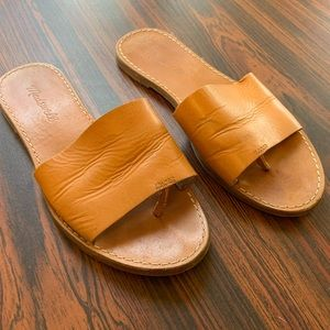 Madewell boardwalk post slide sandal 7